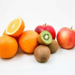 Een foto van gezond fruit