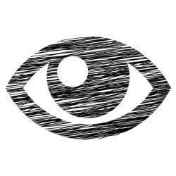 Een afbeelding van een oog. Dat staat voor doorhebben en herkenning